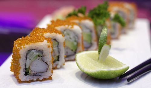 Enjoy Japanese, Chinese, Thai and Indonesian dishes at Pacifika Kitchen.