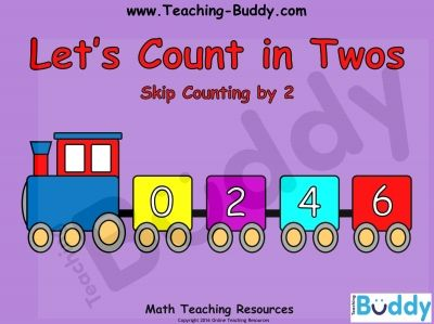 Let's Count in Twos free teaching resources - PowerPoint, printable and…