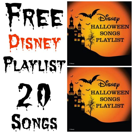 Free Disney Halloween Music Playlist: 20 Spooky Songs For Your Party: