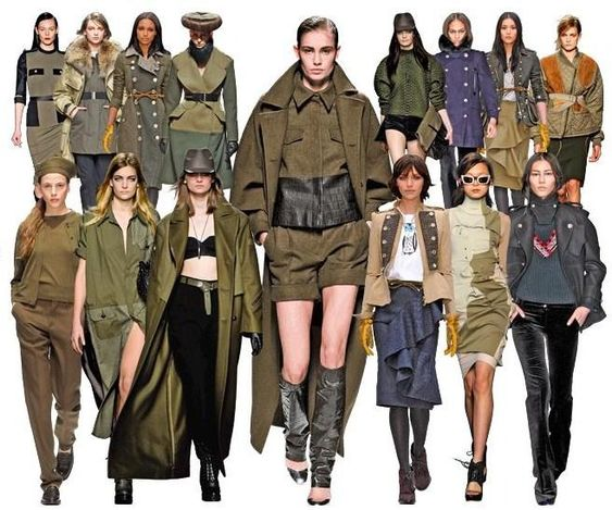 olive color fashion trend 2016 - Google Search: