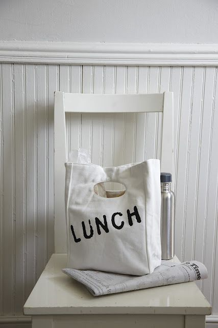 canvas lunch bag from the new general store...www.thenewgeneralstore.com
