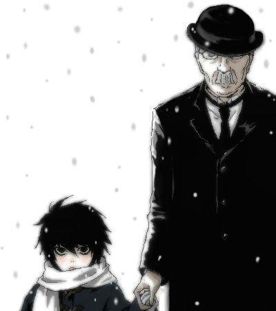 Death Note | L (Lawliet) & Watari | Anime | Fanart ...
