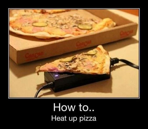 Calentador de pizza