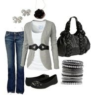 grey and black <3