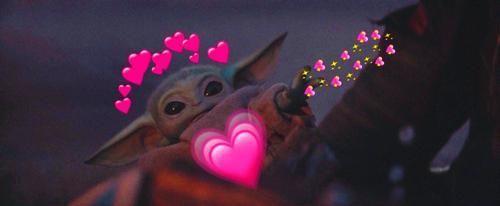 Adorable Baby Yoda Yoda Sticker Star Wars Anakin Star Wars Baby