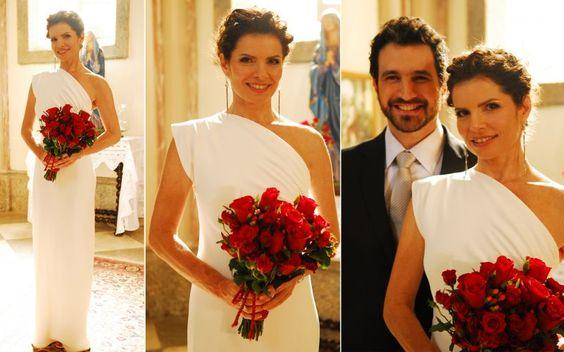 De véu e grinalda: Relembre e inspire-se nos vestidos de noiva das personagens de novelas