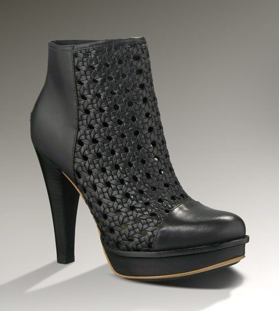 UGG MALIHA Women's Black High Heels: