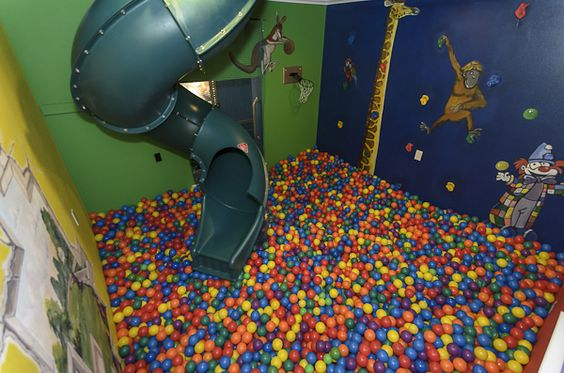 The ball pit room something tells me tilly will be for Ball pits near me