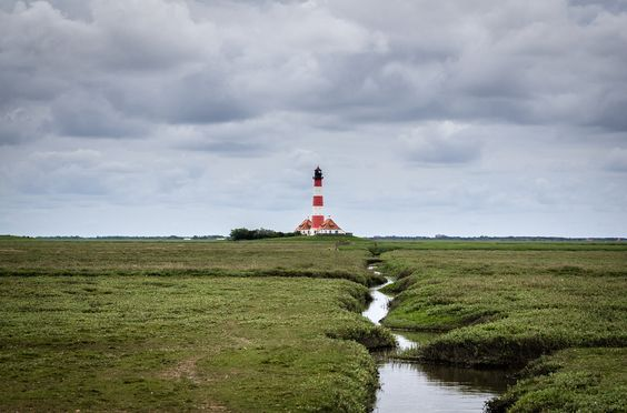Leuchtturm Westerhever by Dominik Kirner, via 500px