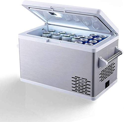 Chic Aspenora Portable Fridge Freezer 12v Car Refrigerator Car Fridge With Compressor Touch Screen For Veh In 2020 Portable Fridge Car Refrigerator Modern Wine Storage