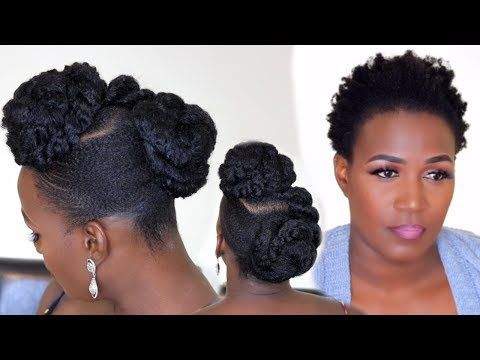 Struggling To Slick Back 4c Natural Hair This Video Is For You