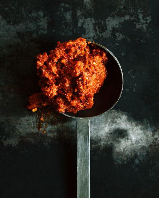 Rote Currypaste - als Basis für ein leckeres Thai- oder vietnamesisches Curry.