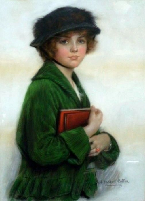 Coffin, William Haskell (b,1878)- Woman w Book