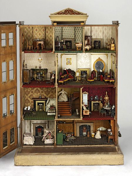 Great Antique French Ebenisteu0027s Apprentice Work, Miniature Armoire   Louis  Philippe With Drawer, Just Right For Antique Dolls | Armoires, Antique Dolls  And ...