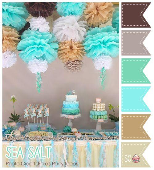 Sea Salt Color Palette - Inspire Sweetness  http://inspiresweetness.blogspot.com/2013/11/sea-salt-color-palette.html