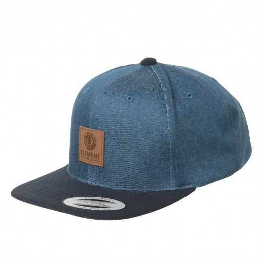 ELEMENT State Cap casquette snapback smoke grey - midnight blue 35,00 € #skate…