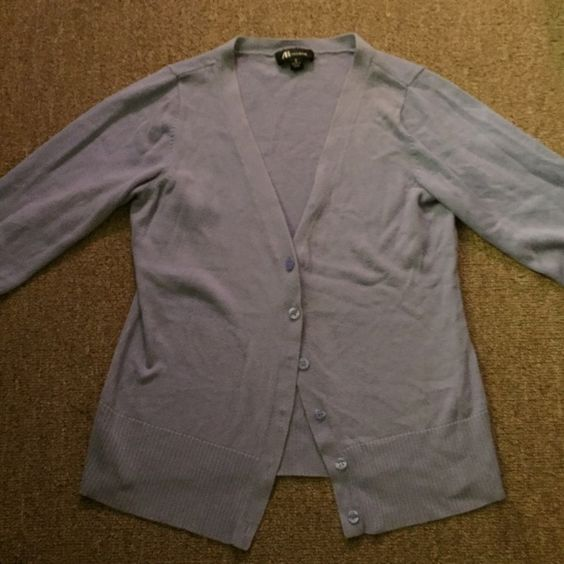 S Violet Cardigan S light violet colored cardigan. Gently used but in great condition. Sweaters Cardigans