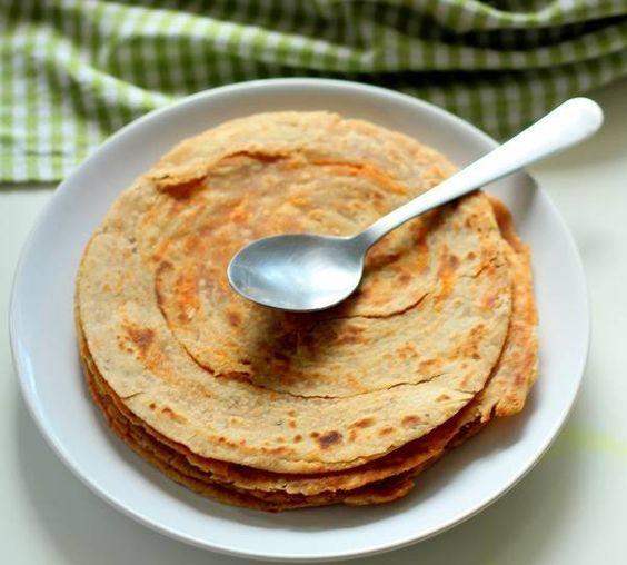 Lacha Roti Recipe: Punjabi recipe of lacha roti or lachha roti. Indian wheat flour flat layered bread. Lacha roti is made by creating layers in wheat flour.