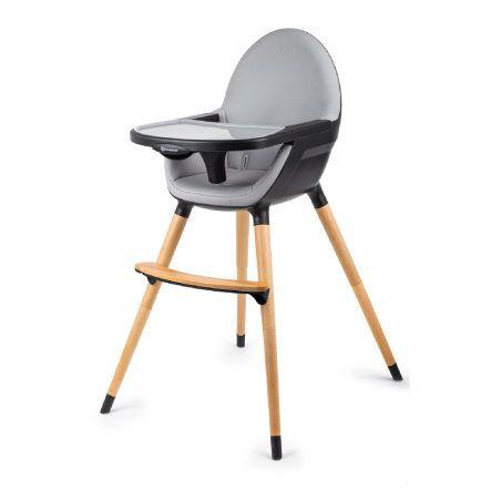 Kinderkraft Hochstuhl Fini Dark Grey Chaise Haute Chaise Haute Bebe Chaise