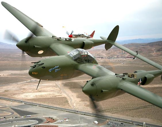 P-38 Lightning (Glacier Girl)