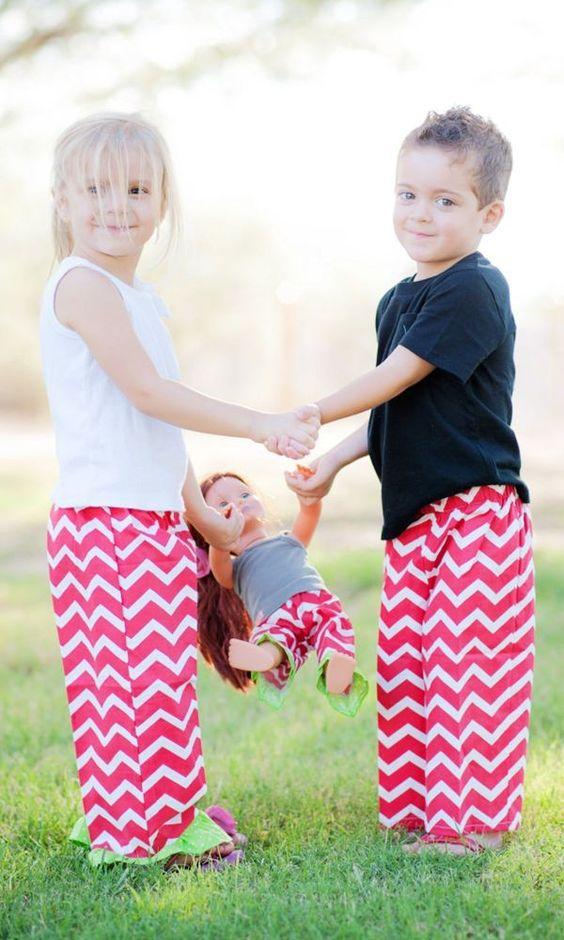 Christmas Pajamas. Matching Sibling Christmas Pajama Pants for ...