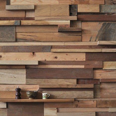 un mur en planches superpos es grange pinterest. Black Bedroom Furniture Sets. Home Design Ideas