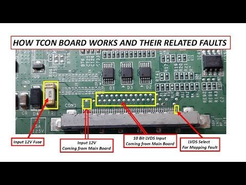How Tcon Board Works Youtube In 2020 Electronic Circuit Projects Sony Led Tv Sony Led