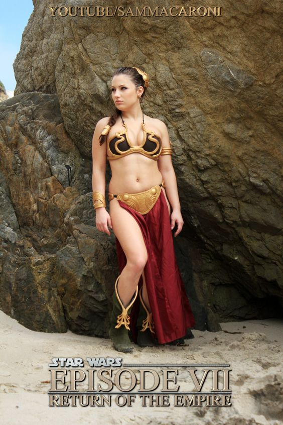 slave leia cosplay
