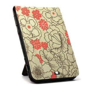 JAVOedge Poppy Flip Case for the Amazon Kindle Keyboard (Red Tangerine) - Past Generation -- 50% DISCOUNT & eligible for FREE SUPER SAVER SHIPPING for a limited time!   $19.95  --- http://www.pinterest.com.yolo.bz/e4