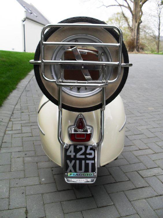1962 VESPA CREAM/WHITE | eBay