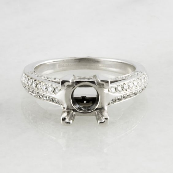 Verona Vintage Diamond Engagement Ring Setting