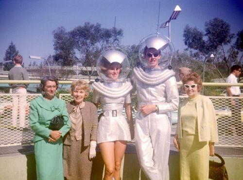 Fabulous Vintage Photograph - Aliens - Space Men - Vintage Halloween Costume Ideas