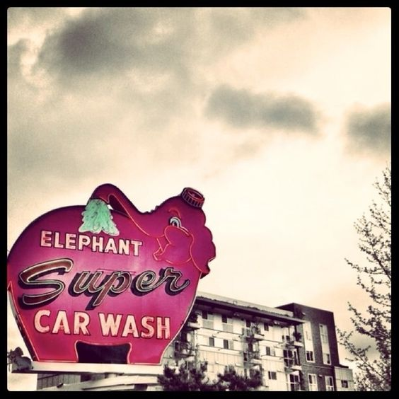 "Discovered by: BP ""The Pink Elephant Car Wash,"" Seattle, WA."