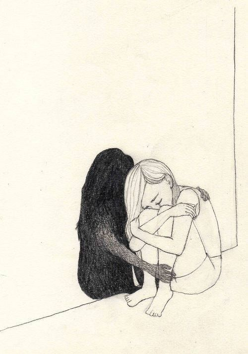 eenzaam: