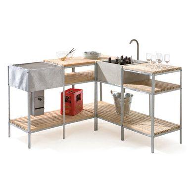 Outdoor Kitchen; Manufactum