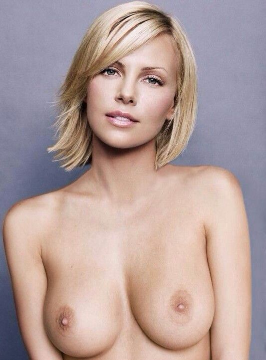 Theron tits charlize