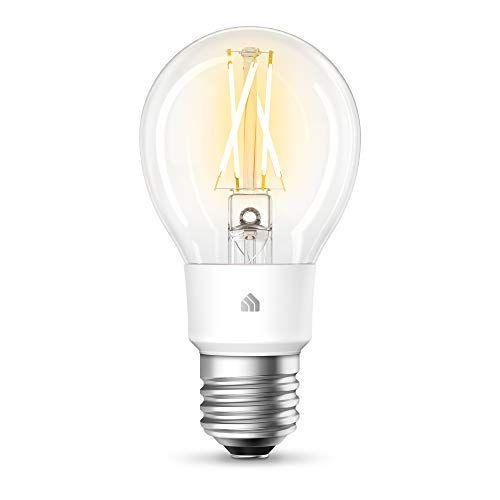 Tp Link Kasa Filament Smart Soft White Wifi Light Bulb Https Www Amazon Com Dp B07rsgtr5w Ref Cm Sw R Pi Dp U X 0 In 2020 Light Bulb Smart Light Bulbs Led Bulb