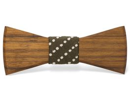 """""""Theo"""" - Unique handcrafted wooden bow ties made by Two Guys Bow Tie Co."""