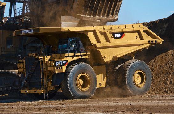 cat machines | Cat marks mining truck milestone | Equipment World | Construction ...