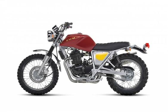 The new scrambler model is named after the 1976 Silver Vase 125 7V, a legendary SWM competition model that won at the International Six Days Enduro event that was held at the Isle of Man that year