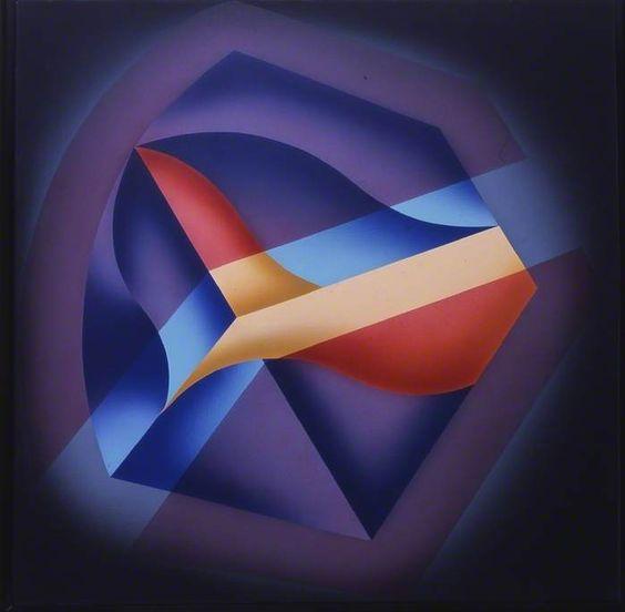 """""""Gema VII"""", Acrílico sobre lienzo, 1990. by Adriana Zapisek"""