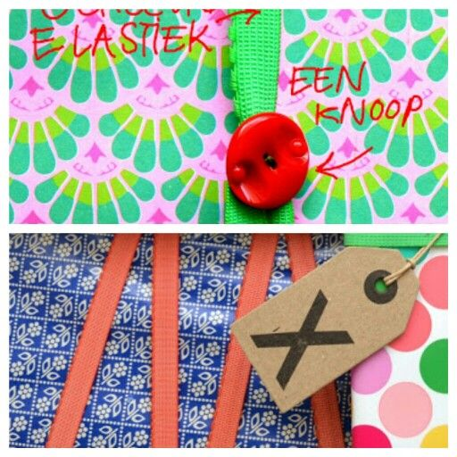 Bookmark, wrapping elastic...... Sew a button on elastic -done!!!!  So easy peasy so great   from the ingthings blog