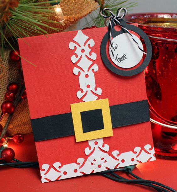 Santa Gift Card Holder from the blog #CreativeMemoriesAustralia