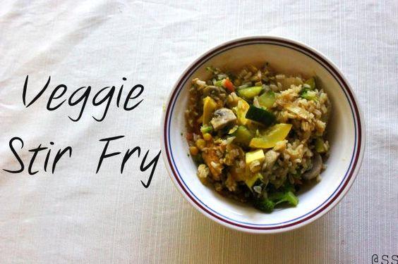 Veggie Stir Fry. Gluten Free and Organic