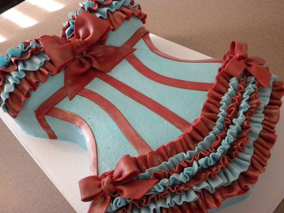 corset cake: