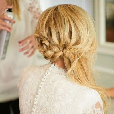 Dreamy Wedding Hairstyles from HMS