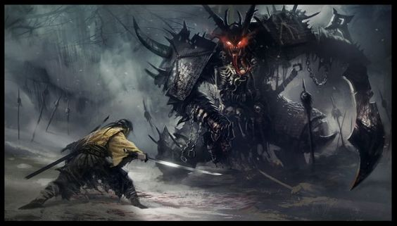 Samurai vs Daemon
