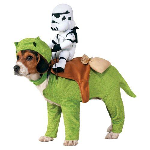 8 Genius Halloween Costume Ideas for Your Dog - Star Wars Dewback Pet Rider - from InStyle.com