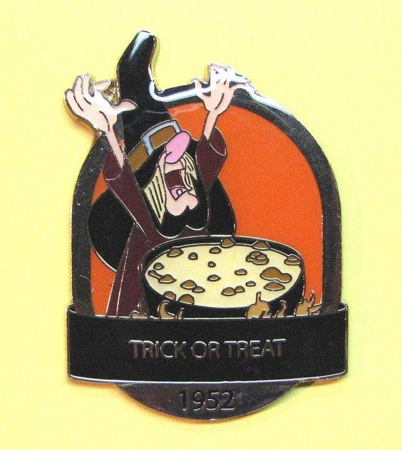 TRICK OR TREAT 1952 D23 DISNEY ANIMATED MAGIC & MEMORIES: A HALLOWEEN TREAT PIN