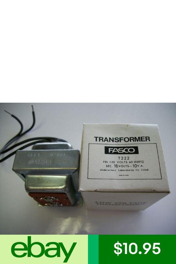 Fasco Electronic Power Transformers Ebay Home Garden Ebay Transformers